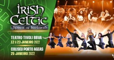 Espectáculos de Irish Celtic adiados para 2022