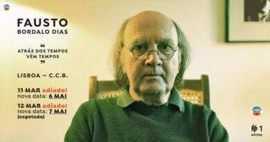 Concertos de Fausto Bordalo Dias no CCB foram adiados