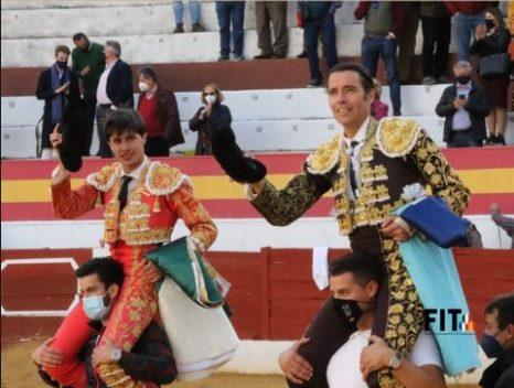 Francisco José Espada triunfou em Zafra