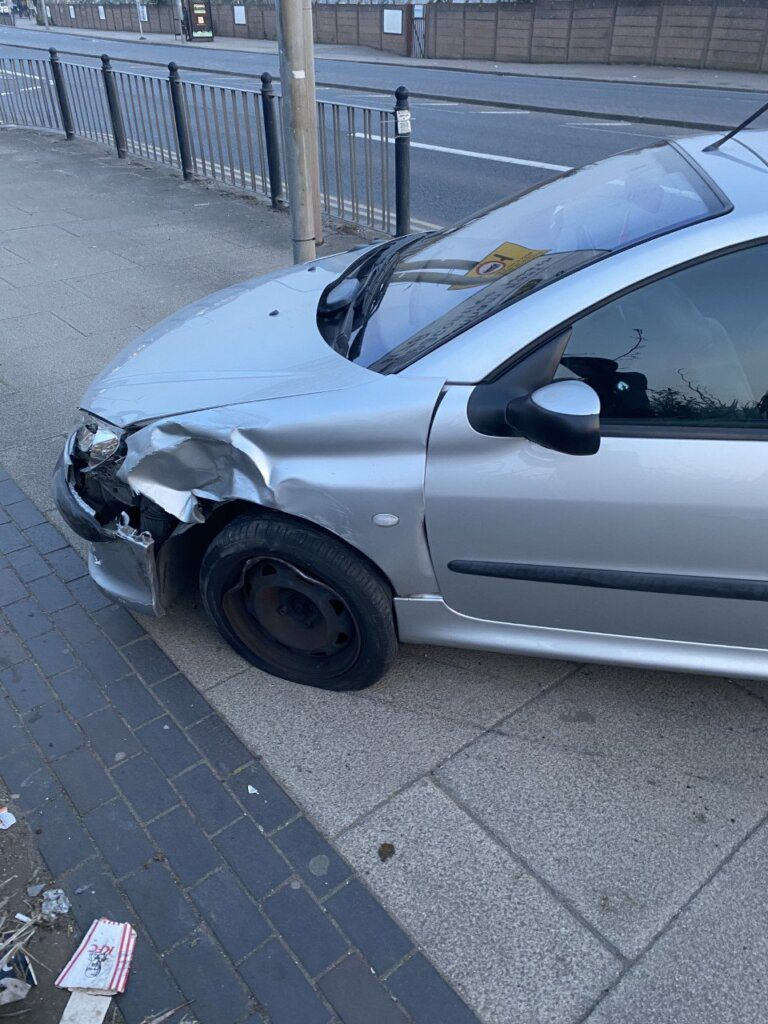 Edmar sofreu aparatoso acidente