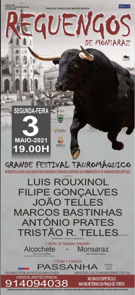 Festival Tauromáquico em Reguengos de Monsaraz adiado