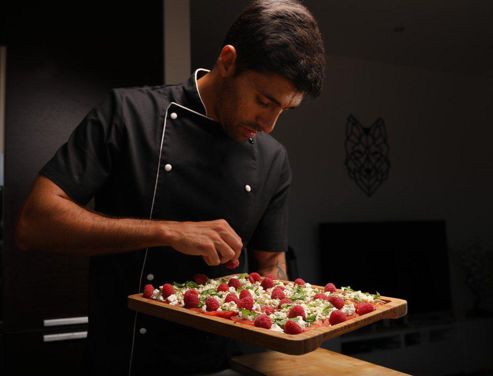 Um chef a cozinhar na sua casa a preços bem acessíveis? Chama-se David Vieira