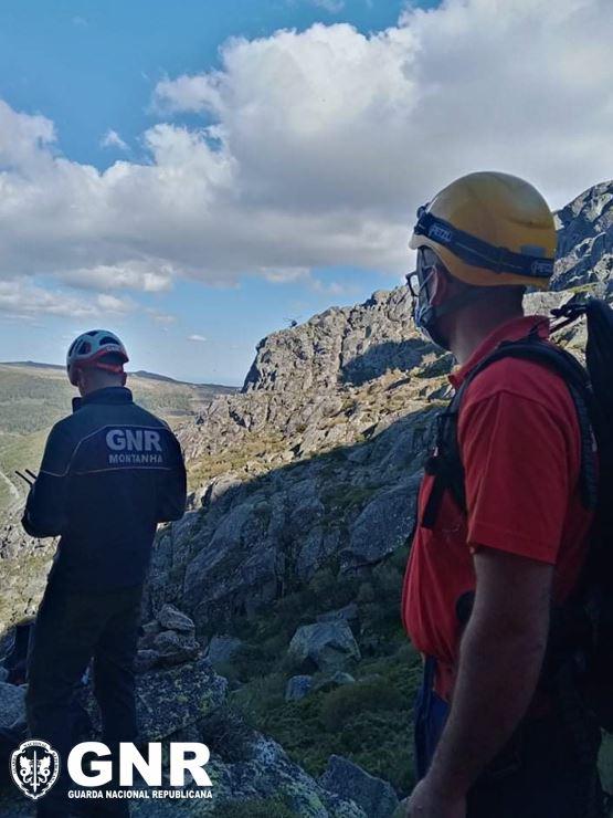 GNR resgata homem na Serra da Estrela