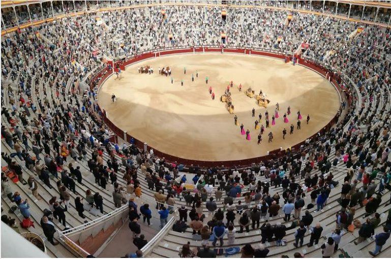 Madrid: Las Ventas passa a ter 50% de lotação permitida