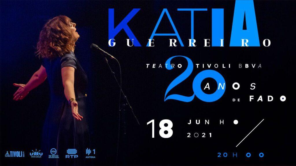 Katia Guerreiro anuncia nova data no Teatro Tivoli BBVA