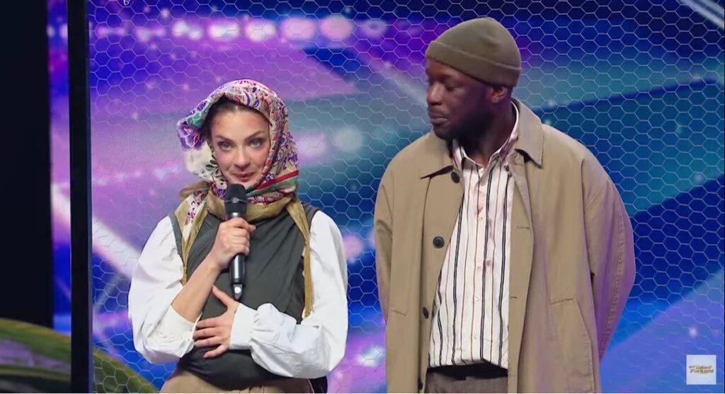 Nadia e Dakota conquistam botão dourado no Got Talent Portugal
