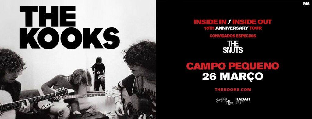 2022: The Kooks com concerto no Campo Pequeno