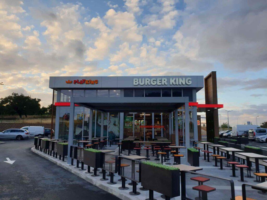 Abriu o Burger King em Alcochete