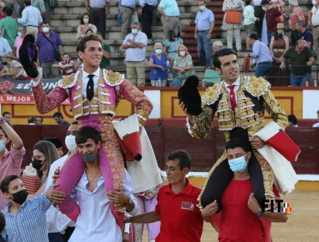 Badajoz: 8 orelhas em tarde exigente e de qualidade