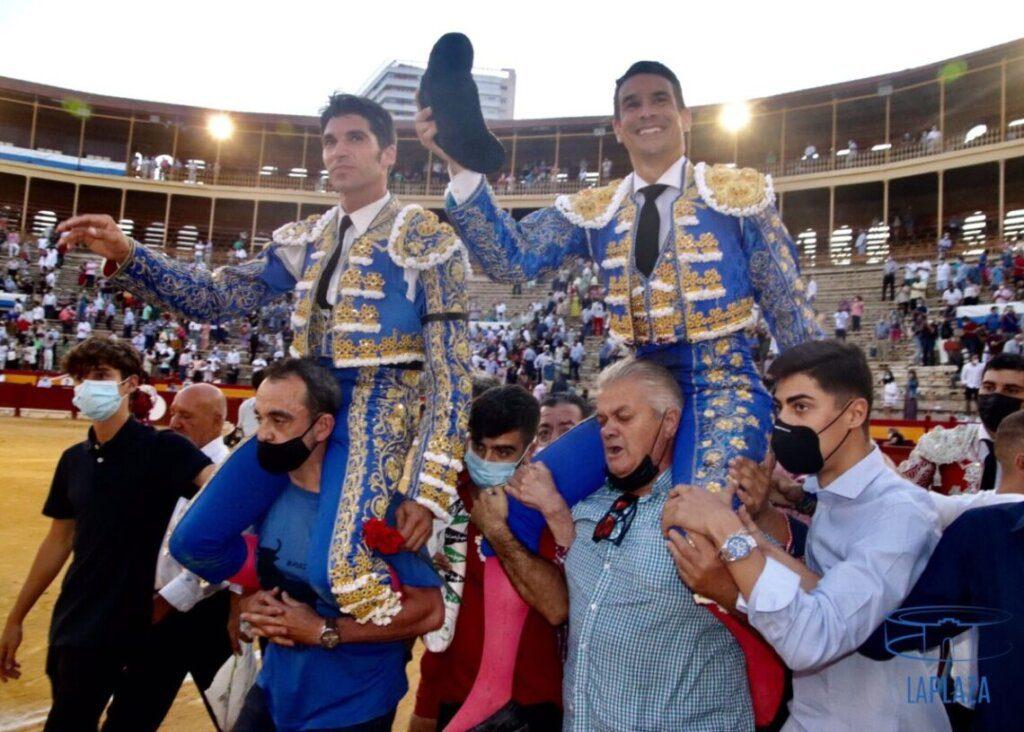 Alicante: Manzanares e Cayetano em ombros