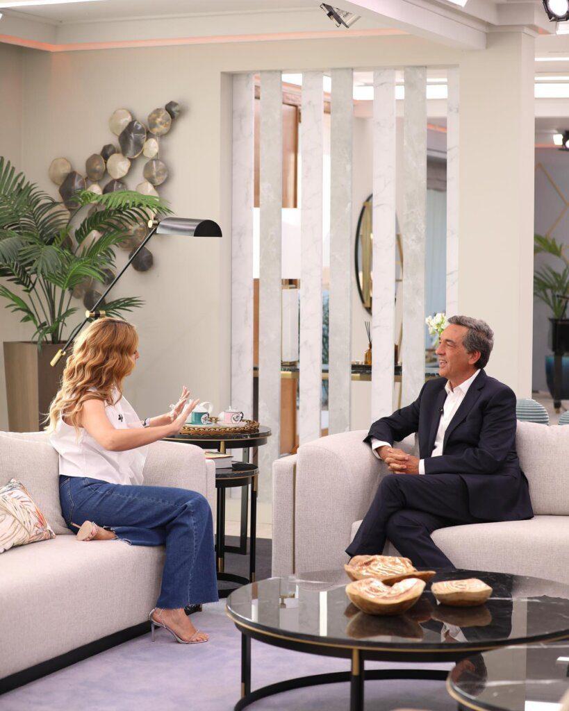 "Cristina Ferreira para Júlio Magalhães: ""Foste o primeiro a aturar o Goucha"""