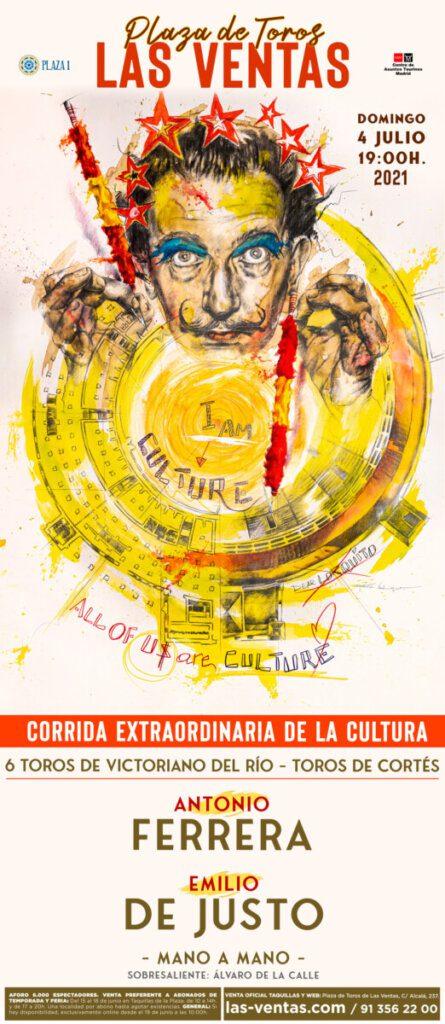 Las Ventas: Corrida da Cultura promovida com obra prima