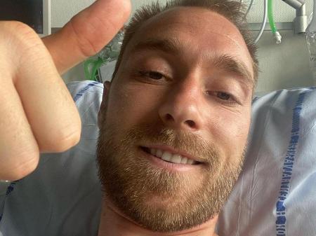 Euro2020: Eriksen já teve alta hospitalar