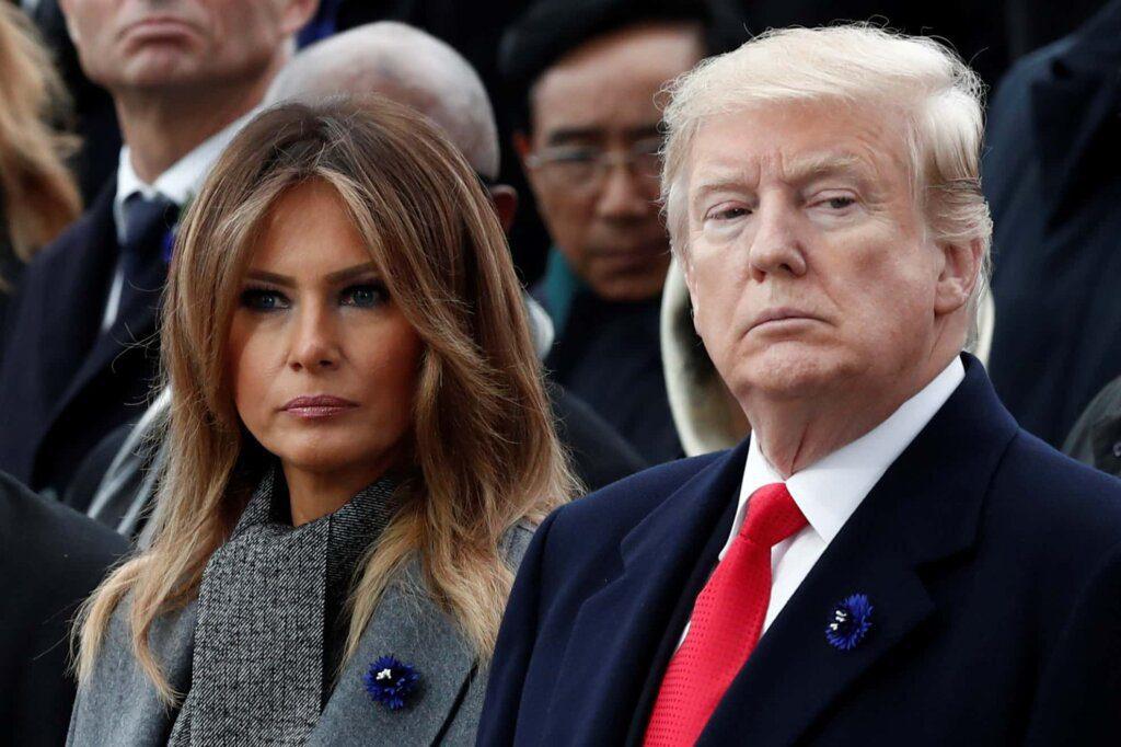 Melania 'baldou-se' ao aniversário de Donald Trump