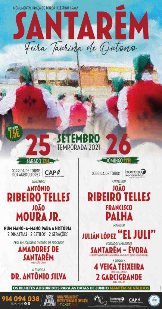 Santarém: Praça Maior anuncia corridas de touros a 25 e 26 de Setembro