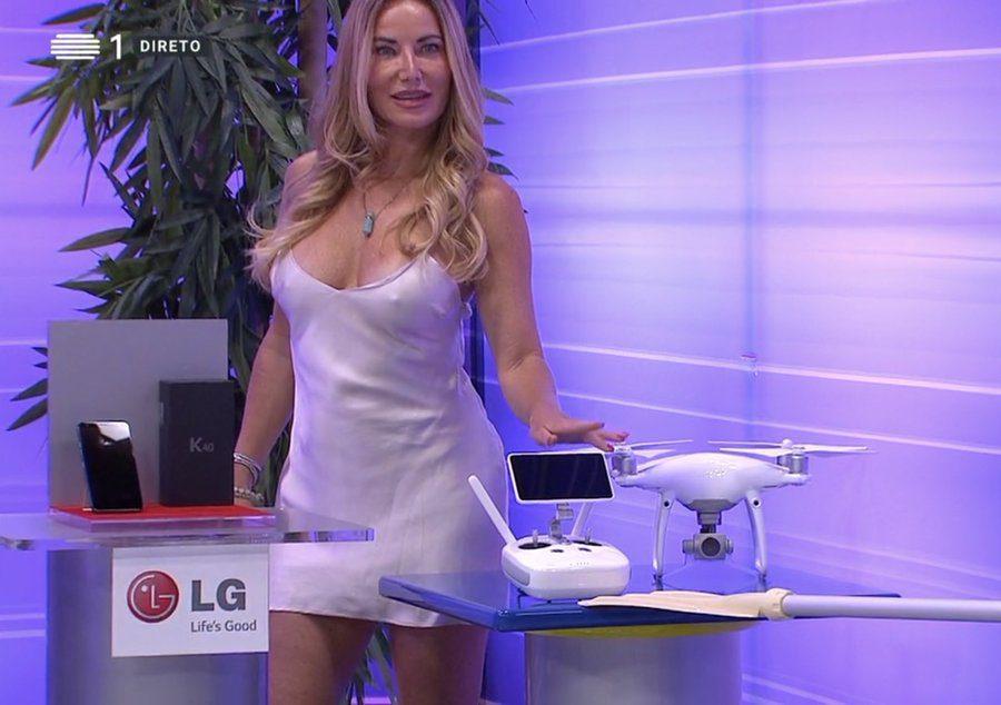 O Preço Certo: Lenka reage à polémica do vestido em que se vê as mamas