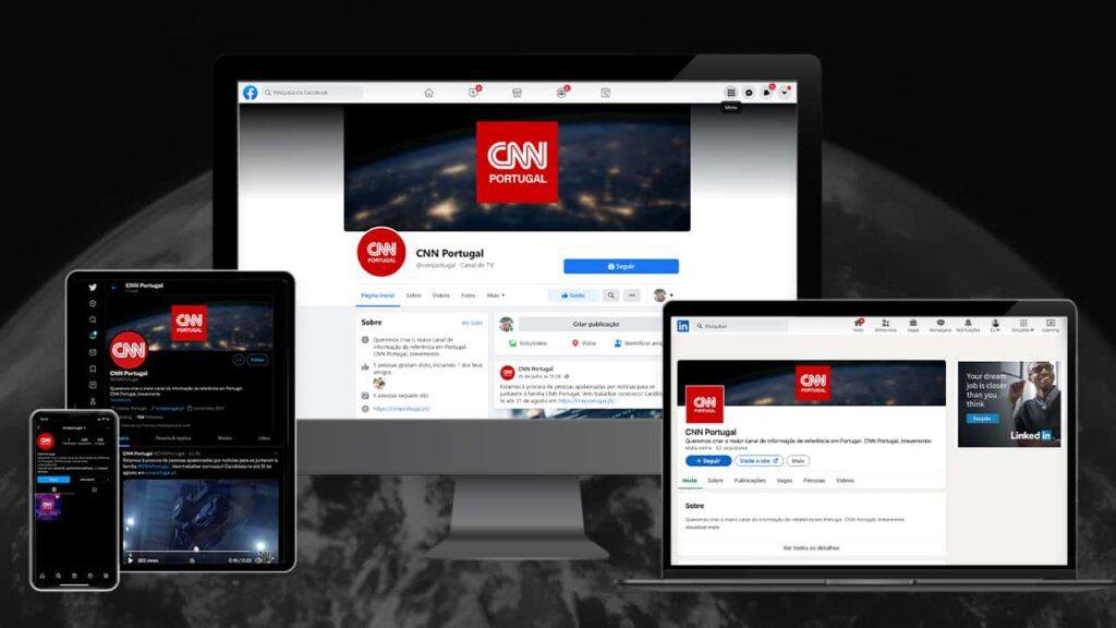 CNN Portugal estreia-se nas redes sociais