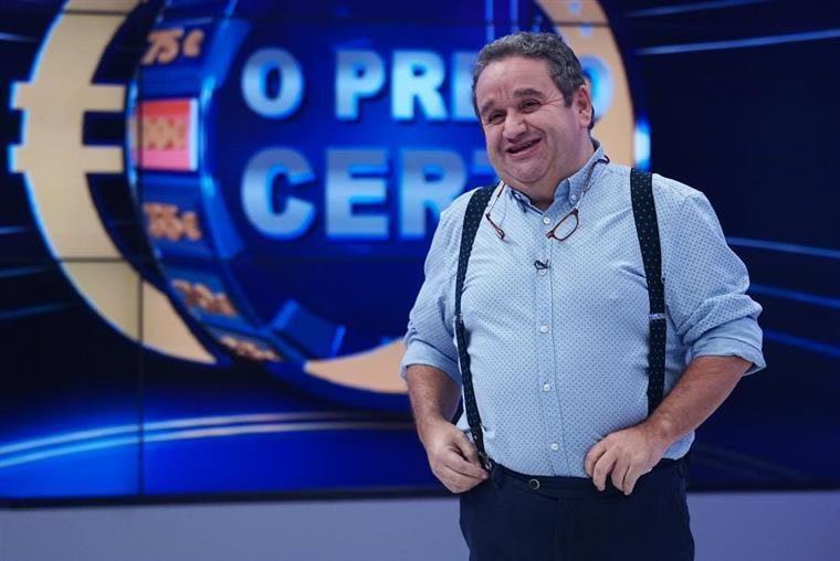 """Fernando Mendes afasta-se da SIC e da TVI: """"Casei-me com O Preço Certo"""""""