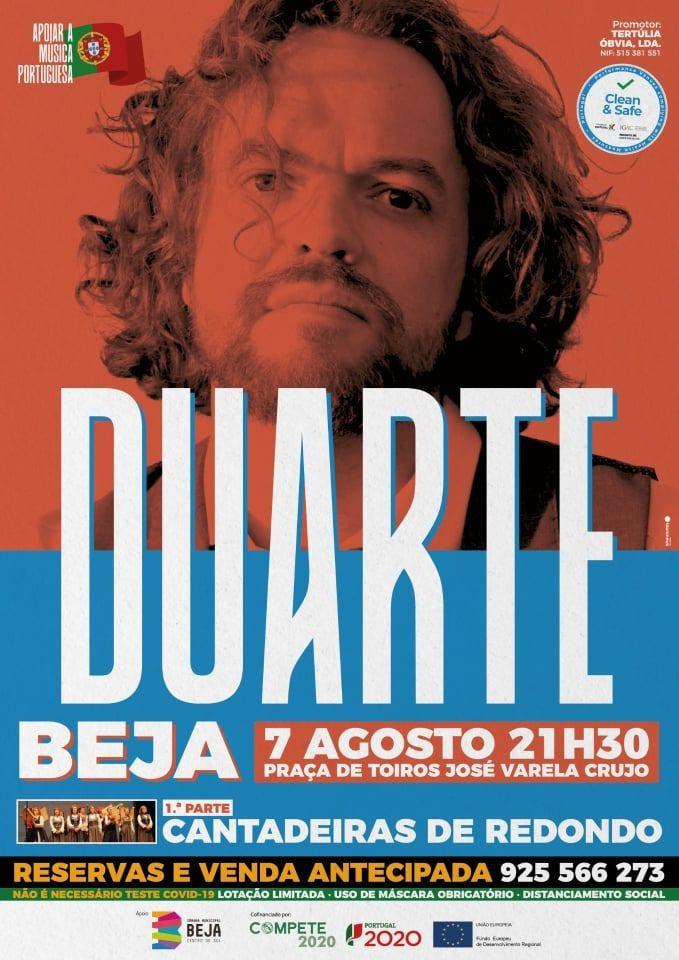 Duarte actua na Praça de Touros de Beja