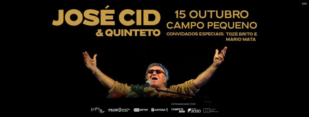 José Cid & Quinteto com concerto no Campo Pequeno