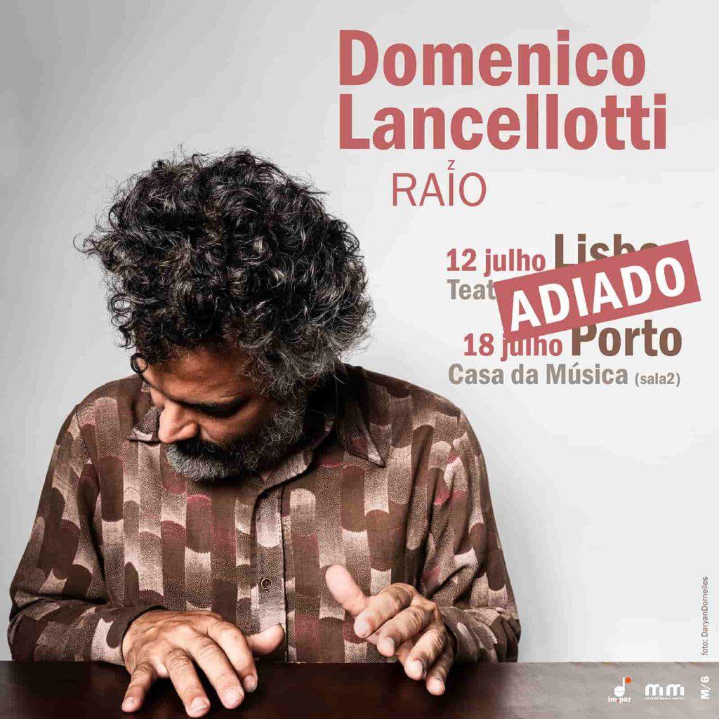Concertos de Domenico Lancellotti adiados