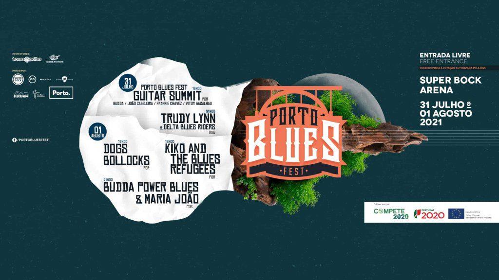 Porto Blues Fest 2021 realiza-se a 31 de Julho e 1 de Agosto