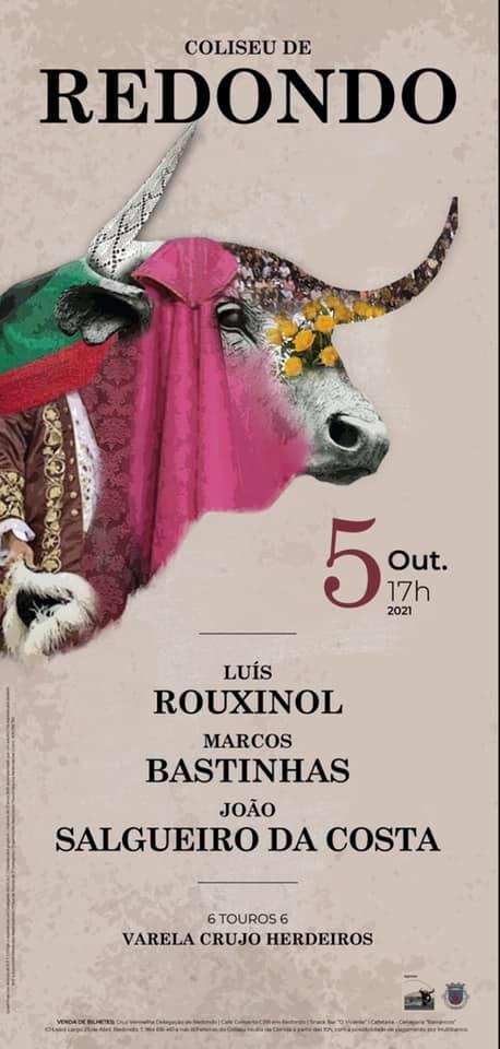 Redondo recebe corrida de touros a 5 de Outubro. Conheça o cartel