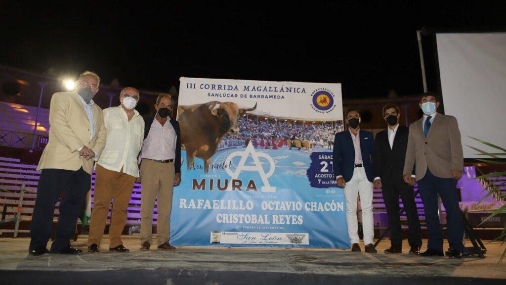 Touros Miura em Sanlúcar de Barrameda