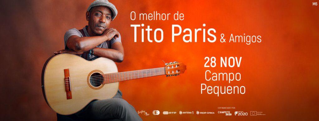 Tito Paris actua no Campo Pequeno