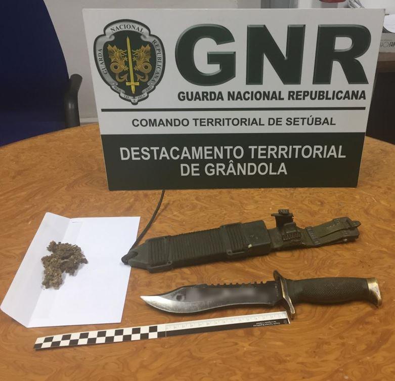 Grândola: GNR detém homem por posse de arma proibida
