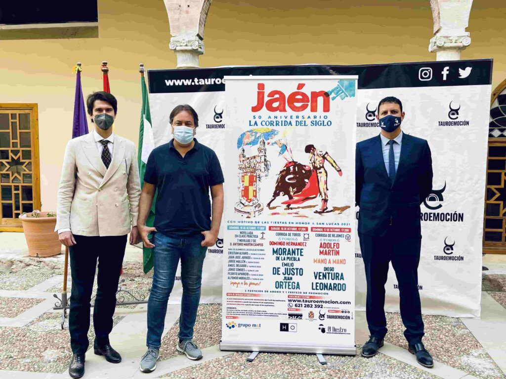 Jaén: Feira taurina conta com Diego Ventura frente a touros Adolfo Martin