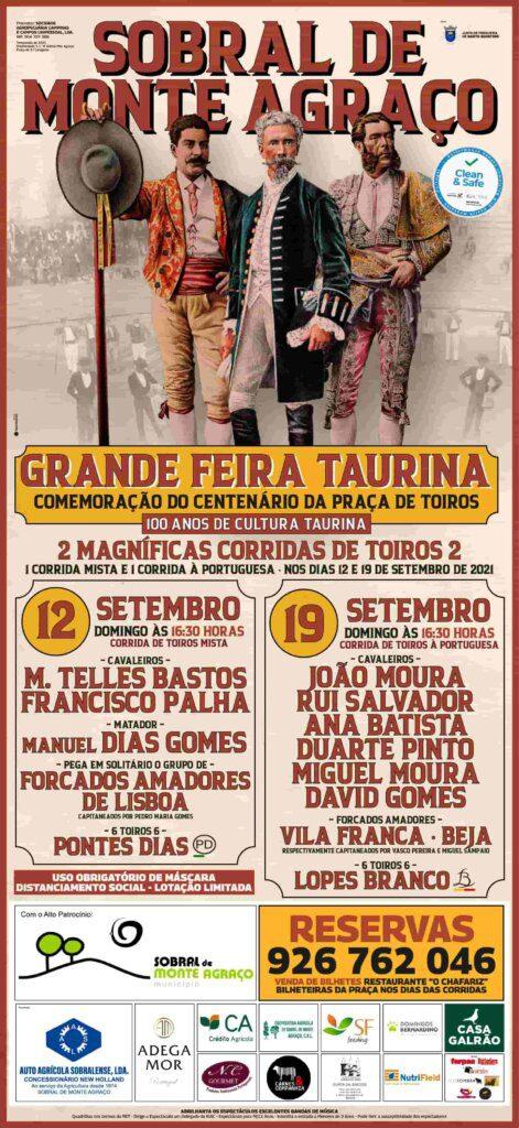 Sobral de Monte Agraço: Centenário da Praça de Touros celebrado com Arte!