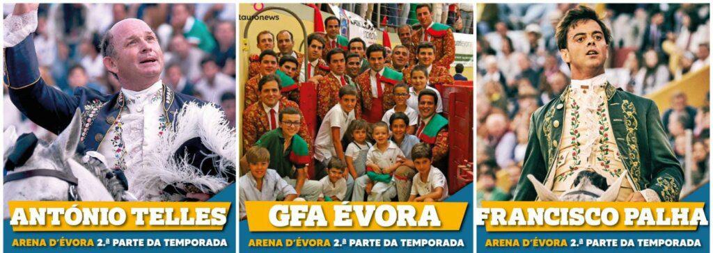 Arena D'Évora receberá mais duas corridas de touros