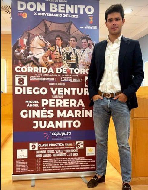 'Juanito' e Diego Ventura em Don Benito