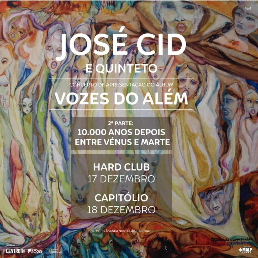 José Cid apresenta 'Vozes do Além' no Porto e em Lisboa