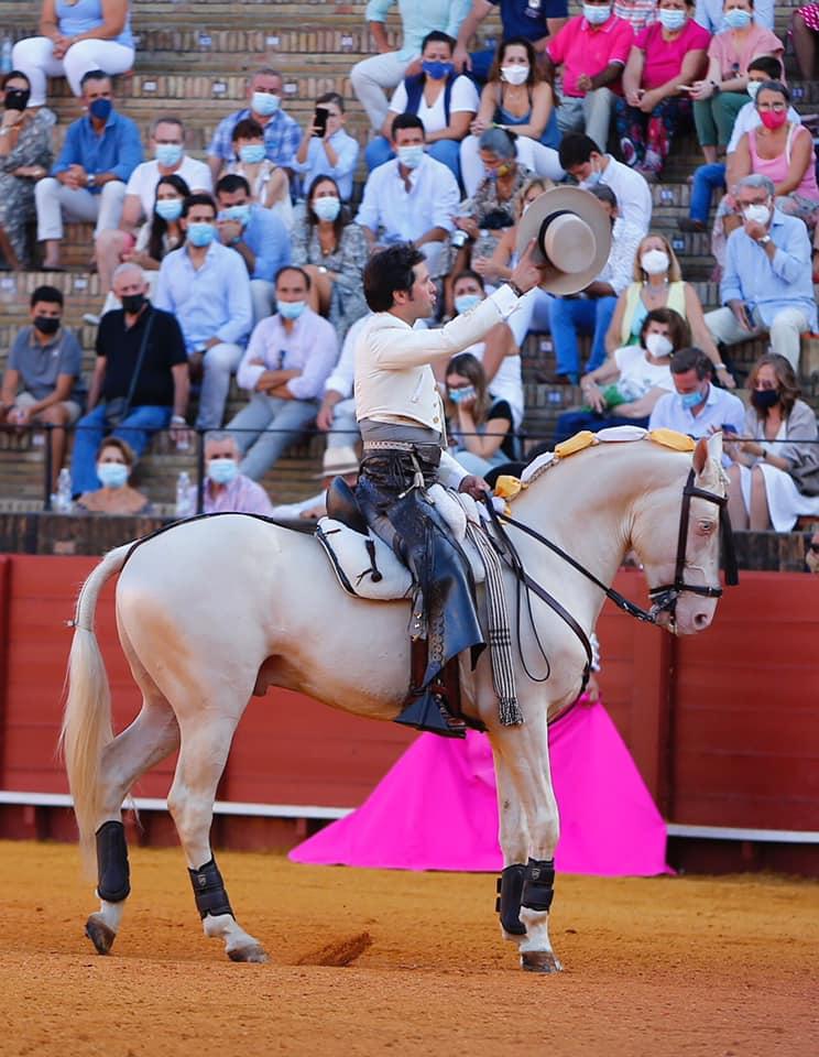 Cavalo de Andrés Romero morre, após colhida em Sevilha