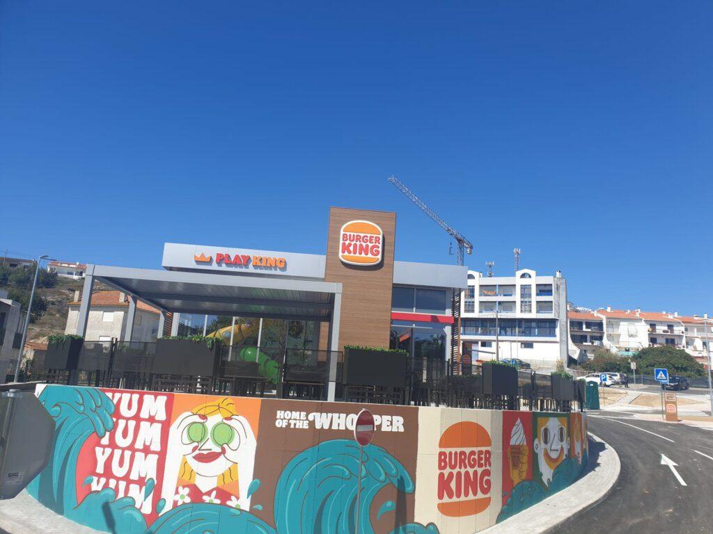 Burger King chega à Nazaré