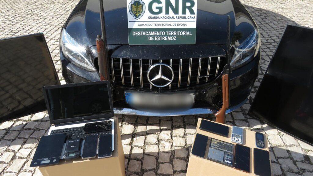 Évora: Sete detidos por tráfico de droga