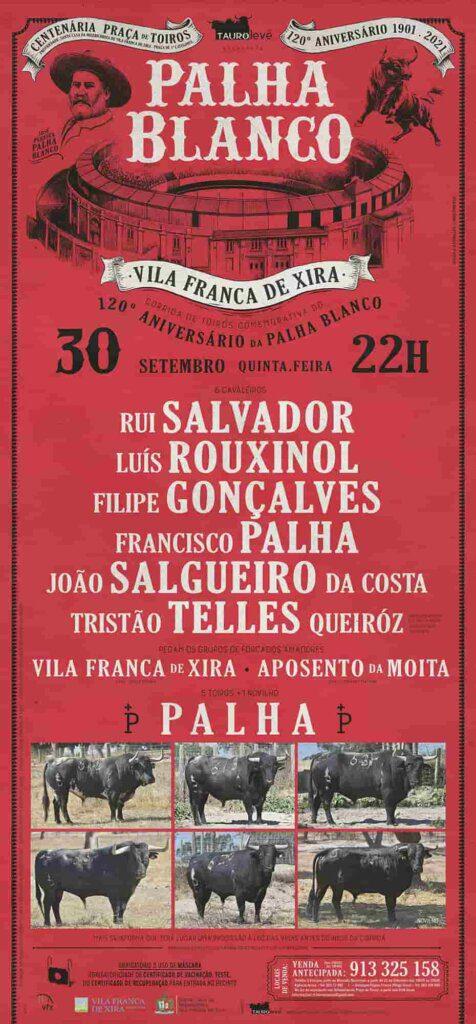 120 Anos da Palha Blanco celebrados com cartel de figuras!