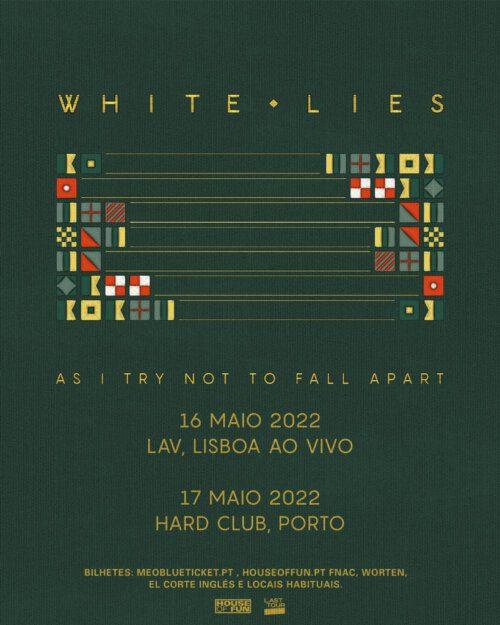 White Lies anunciam concertos em Lisboa e Porto