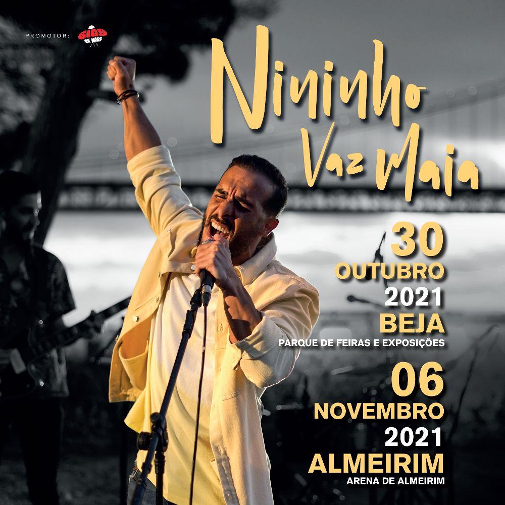 Nininho Vaz Maia anuncia concertos em Beja e Almeirim