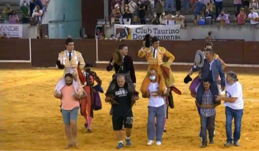 Juanito triunfa em Don Benito antes de actuar no Campo Pequeno