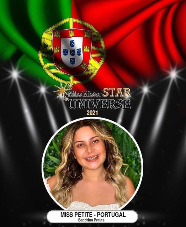 Sandrina Pratas pagou para ser Miss Petite Portugal'