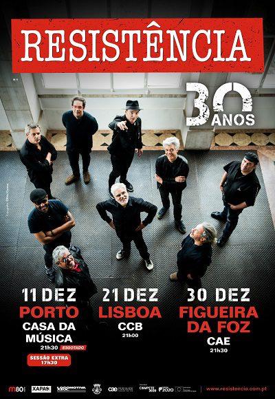 Resistência anuncia data extra no Porto e concerto na Figueira da Foz