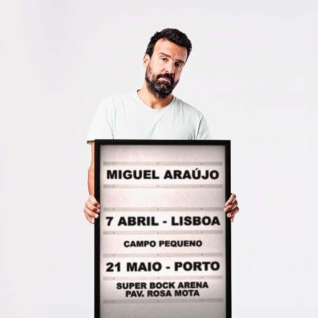 Miguel Araújo anuncia concertos no Campo Pequeno e Super Bock Arena
