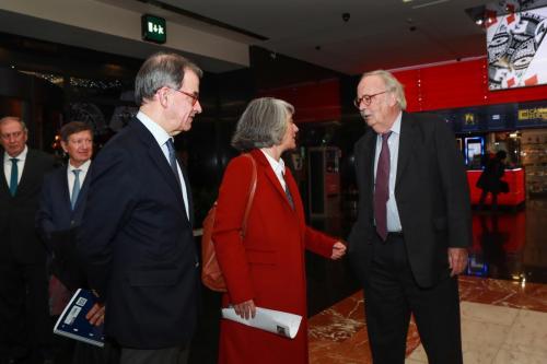 Guilherme d'Oliveira Martins, Min. Cultura Graça Fonseca e Carlos Monjardino