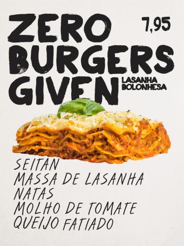 Zero Burgers Given