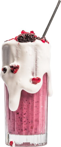 Milkshake Frutos Silvestres
