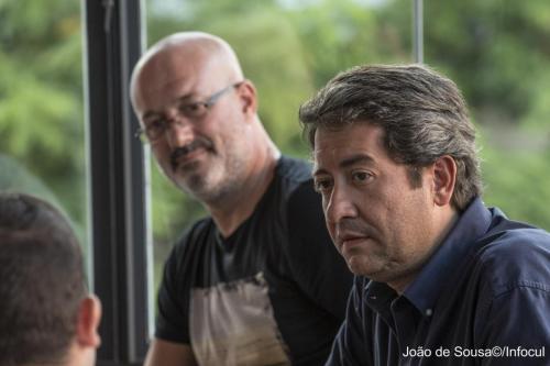 Miguel Ponte e Carlos Leitão